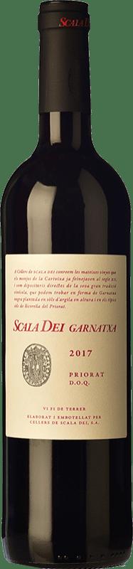 12,95 € Envío gratis | Vino tinto Scala Dei Garnatxa Joven D.O.Ca. Priorat Cataluña España Garnacha Botella 75 cl