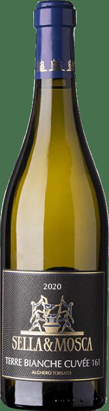 15,95 € Free Shipping | White wine Sella e Mosca Torbato Terre Bianche Cuvée 161 D.O.C. Alghero Sardegna Italy Torrontés Bottle 75 cl