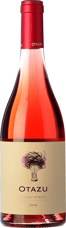 11,95 € Free Shipping | Rosé wine Señorío de Otazu D.O. Navarra Navarre Spain Merlot Bottle 75 cl