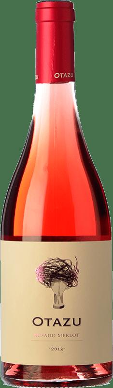 11,95 € 免费送货 | 玫瑰酒 Señorío de Otazu D.O. Navarra 纳瓦拉 西班牙 Merlot 瓶子 75 cl