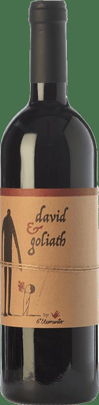 23,95 € Envío gratis | Vino tinto Sexto Elemento David & Goliath Crianza España Bobal Botella 75 cl