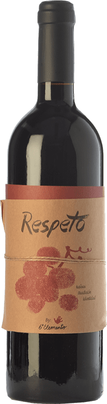 29,95 € Free Shipping | Red wine Sexto Elemento Respeto Crianza Spain Bobal Bottle 75 cl