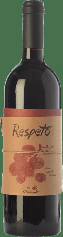 29,95 € Envío gratis | Vino tinto Sexto Elemento Respeto Crianza España Bobal Botella 75 cl