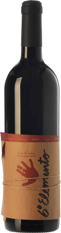 23,95 € Free Shipping | Red wine Sexto Elemento Crianza D.O. Valencia Valencian Community Spain Bobal Bottle 75 cl