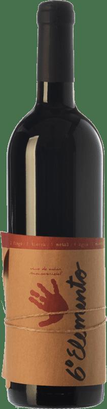 23,95 € 免费送货 | 红酒 Sexto Elemento Crianza D.O. Valencia 巴伦西亚社区 西班牙 Bobal 瓶子 75 cl