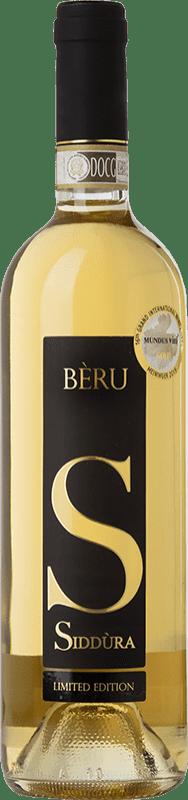 39,95 € Free Shipping | White wine Siddùra Bèru D.O.C.G. Vermentino di Gallura Sardegna Italy Vermentino Bottle 75 cl
