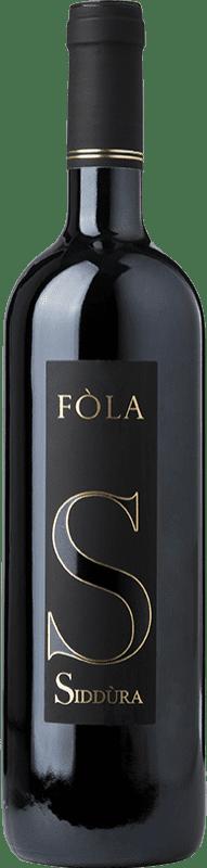28,95 € Free Shipping | Red wine Siddùra Fòla D.O.C. Cannonau di Sardegna Sardegna Italy Cannonau Bottle 75 cl