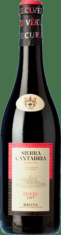 16,95 € Free Shipping | Red wine Sierra Cantabria Cuvée Crianza D.O.Ca. Rioja The Rioja Spain Tempranillo Bottle 75 cl