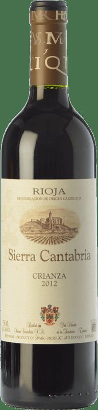9,95 € | Red wine Sierra Cantabria Crianza D.O.Ca. Rioja The Rioja Spain Tempranillo, Grenache, Graciano Bottle 75 cl