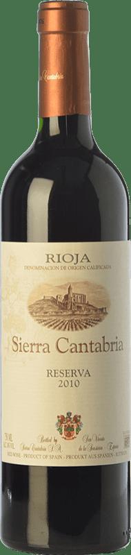 16,95 € | Red wine Sierra Cantabria Reserva D.O.Ca. Rioja The Rioja Spain Tempranillo, Graciano Bottle 75 cl