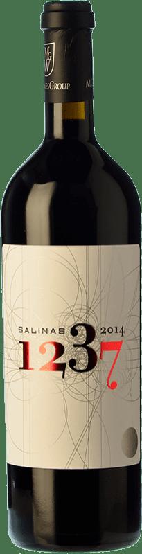 79,95 € Free Shipping | Red wine Sierra Salinas 1237 Reserva 2009 D.O. Alicante Valencian Community Spain Cabernet Sauvignon, Monastrell, Grenache Tintorera Bottle 75 cl