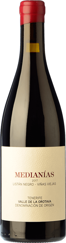 21,95 € 免费送货 | 红酒 Soagranorte Suertes del Marqués Medianías Crianza D.O. Valle de la Orotava 加那利群岛 西班牙 Listán Black, Tintilla, Vijariego Black 瓶子 75 cl