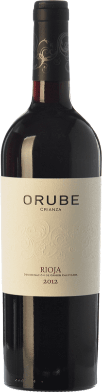 9,95 € | Red wine Solar Viejo Orube Crianza D.O.Ca. Rioja The Rioja Spain Tempranillo, Grenache, Graciano Bottle 75 cl