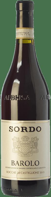 54,95 € Envío gratis | Vino tinto Sordo Rocche di Castiglione D.O.C.G. Barolo Piemonte Italia Nebbiolo Botella 75 cl