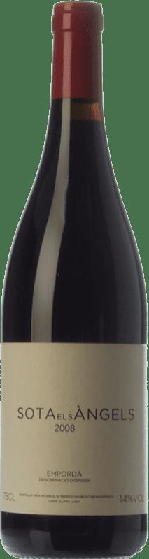 49,95 € Free Shipping | Red wine Sota els Àngels Crianza D.O. Empordà Catalonia Spain Cabernet Sauvignon, Samsó, Carmenère Bottle 75 cl