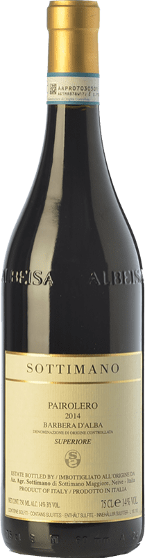 26,95 € | Red wine Sottimano Pairolero D.O.C. Barbera d'Alba Piemonte Italy Barbera Bottle 75 cl