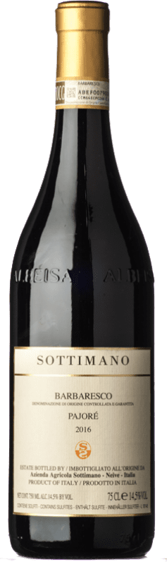 79,95 € Free Shipping | Red wine Sottimano Pajorè D.O.C.G. Barbaresco Piemonte Italy Nebbiolo Bottle 75 cl