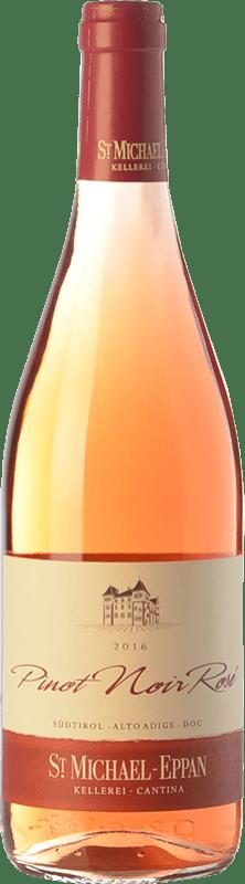 14,95 € Envío gratis | Vino rosado St. Michael-Eppan Rosé D.O.C. Alto Adige Trentino-Alto Adige Italia Pinot Negro Botella 75 cl