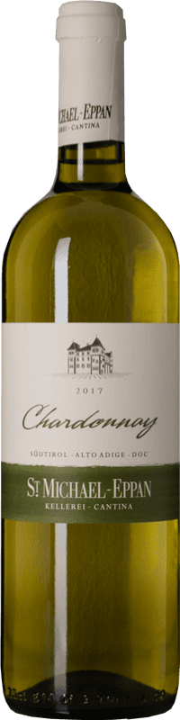15,95 € Envío gratis | Vino blanco St. Michael-Eppan D.O.C. Alto Adige Trentino-Alto Adige Italia Chardonnay Botella 75 cl