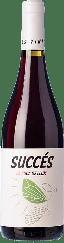 8,95 € | Red wine Succés Cuca de Llum Joven D.O. Conca de Barberà Catalonia Spain Trepat Bottle 75 cl