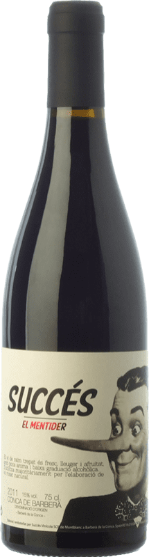 15,95 € | Red wine Succés El Mentider Joven D.O. Conca de Barberà Catalonia Spain Trepat Bottle 75 cl