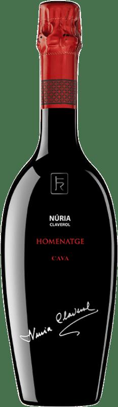 46,95 € Envoi gratuit | Blanc moussant Sumarroca Núria Claverol Homenatge Gran Reserva D.O. Cava Catalogne Espagne Xarel·lo, Chardonnay, Parellada Bouteille 75 cl