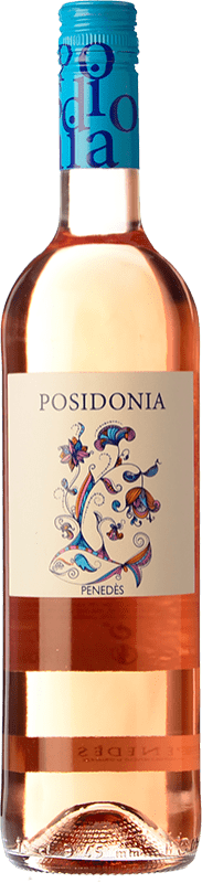 7,95 € Free Shipping | Rosé wine Sumarroca Posidonia Joven D.O. Penedès Catalonia Spain Tempranillo Bottle 75 cl