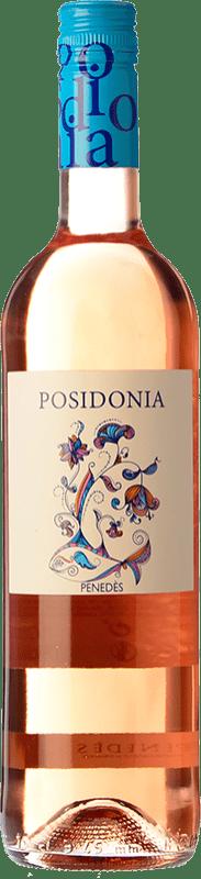 7,95 € Envío gratis | Vino rosado Sumarroca Posidonia Joven D.O. Penedès Cataluña España Tempranillo Botella 75 cl