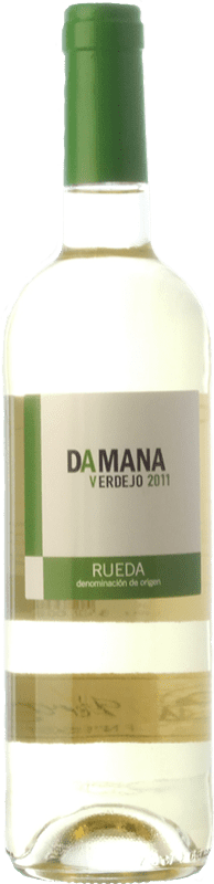 5,95 € Free Shipping | White wine Tábula Damana D.O. Rueda Castilla y León Spain Verdejo Bottle 75 cl