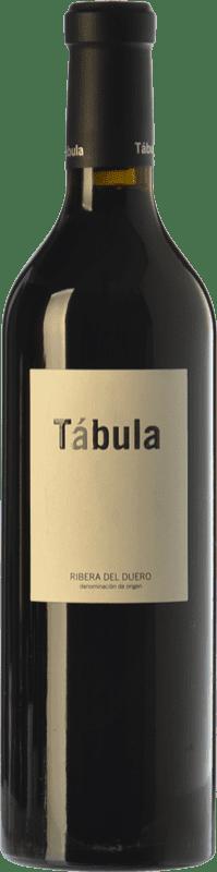 29,95 € Envío gratis | Vino tinto Tábula Reserva D.O. Ribera del Duero Castilla y León España Tempranillo Botella 75 cl