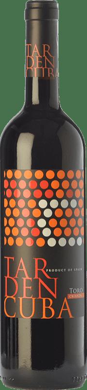 11,95 € Envío gratis | Vino tinto Tardencuba Crianza D.O. Toro Castilla y León España Tinta de Toro Botella 75 cl