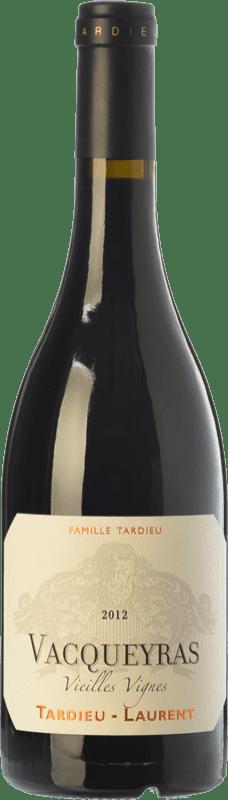 23,95 € | Red wine Tardieu-Laurent Vieilles Vignes Crianza A.O.C. Vacqueyras Rhône France Syrah, Grenache Bottle 75 cl