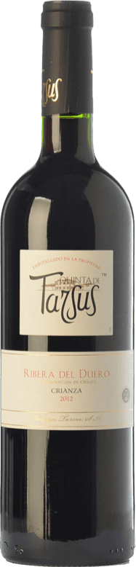 15,95 € Envoi gratuit | Vin rouge Tarsus Quinta Crianza D.O. Ribera del Duero Castille et Leon Espagne Tempranillo Bouteille 75 cl