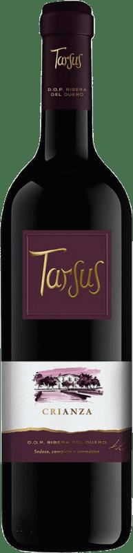 15,95 € Envío gratis | Vino tinto Tarsus Quinta Crianza D.O. Ribera del Duero Castilla y León España Tempranillo Botella 75 cl