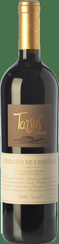41,95 € Envoi gratuit | Vin rouge Tarsus Terno Crianza D.O. Ribera del Duero Castille et Leon Espagne Tempranillo Bouteille 75 cl