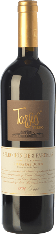 41,95 € Envío gratis | Vino tinto Tarsus Terno Crianza D.O. Ribera del Duero Castilla y León España Tempranillo Botella 75 cl