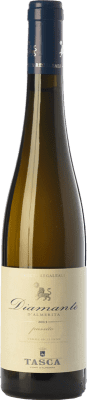 26,95 € | Sweet wine Tasca d'Almerita Diamante I.G.T. Terre Siciliane Sicily Italy Gewürztraminer, Muscatel White Half Bottle 50 cl