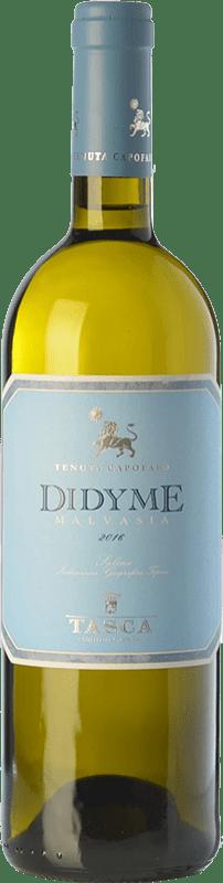 19,95 € Envío gratis   Vino blanco Tasca d'Almerita Malvasia Secca Dydime I.G.T. Salina Sicilia Italia Malvasía delle Lipari Botella 75 cl