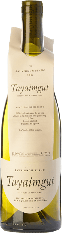 19,95 € | White wine Tayaimgut Blanc Crianza D.O. Penedès Catalonia Spain Sauvignon White Bottle 75 cl
