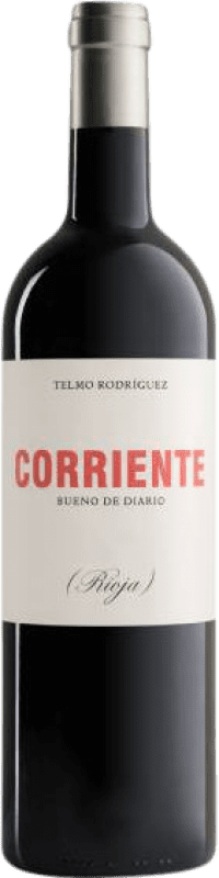 12,95 € Free Shipping | Red wine Telmo Rodríguez Corriente Crianza D.O.Ca. Rioja The Rioja Spain Tempranillo, Grenache, Graciano Bottle 75 cl