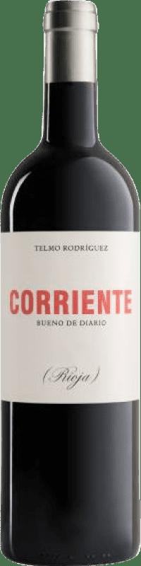 12,95 € Envío gratis | Vino tinto Telmo Rodríguez Corriente Crianza D.O.Ca. Rioja La Rioja España Tempranillo, Garnacha, Graciano Botella 75 cl