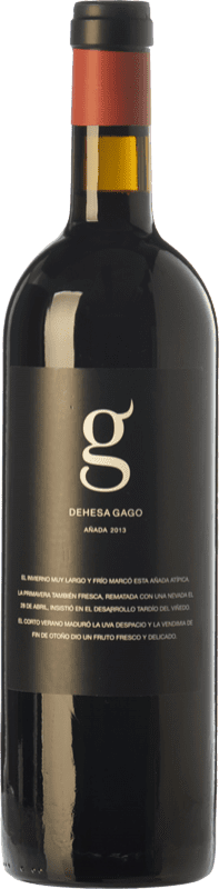 8,95 € Envoi gratuit | Vin rouge Telmo Rodríguez Dehesa Gago Joven D.O. Toro Castille et Leon Espagne Tinta de Toro Bouteille 75 cl