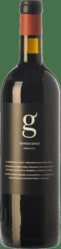 8,95 € Envío gratis | Vino tinto Telmo Rodríguez Dehesa Gago Joven D.O. Toro Castilla y León España Tinta de Toro Botella 75 cl