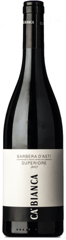 11,95 € | Red wine Tenimenti Ca' Bianca Superiore Antè D.O.C. Barbera d'Asti Piemonte Italy Barbera Bottle 75 cl