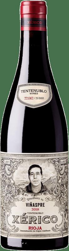 18,95 € 免费送货 | 红酒 Tentenublo Xérico Joven D.O.Ca. Rioja 拉里奥哈 西班牙 Tempranillo, Viura 瓶子 75 cl