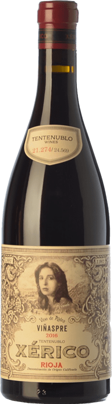 18,95 € Envío gratis | Vino tinto Tentenublo Xérico Joven D.O.Ca. Rioja La Rioja España Tempranillo, Viura Botella 75 cl