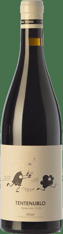 18,95 € Envoi gratuit | Vin rouge Tentenublo Crianza D.O.Ca. Rioja La Rioja Espagne Tempranillo, Grenache Bouteille 75 cl