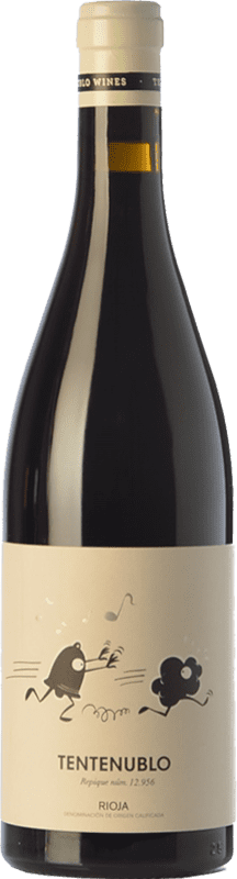 18,95 € Envío gratis | Vino tinto Tentenublo Crianza D.O.Ca. Rioja La Rioja España Tempranillo, Garnacha Botella 75 cl
