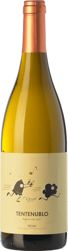 17,95 € Free Shipping | White wine Tentenublo Crianza D.O.Ca. Rioja The Rioja Spain Viura, Malvasía Bottle 75 cl