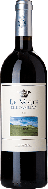 25,95 € Free Shipping | Red wine Ornellaia Le Volte I.G.T. Toscana Tuscany Italy Merlot, Cabernet Sauvignon, Sangiovese Bottle 75 cl